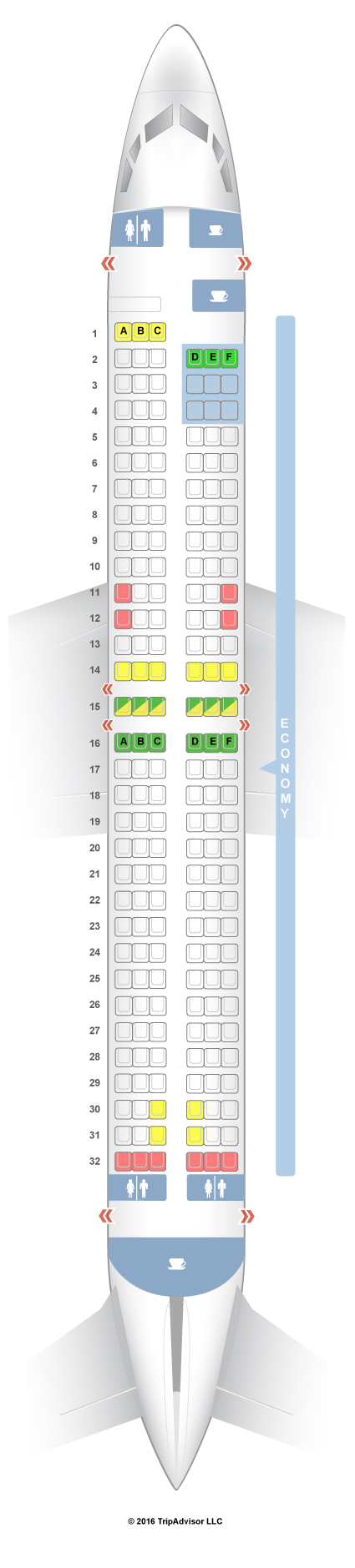 SeatGuru Seat Map TUIfly - SeatGuru