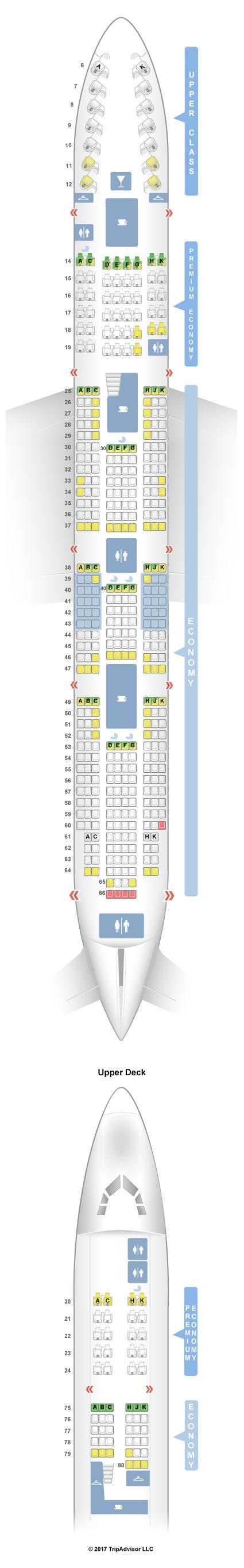 SeatGuru Seat Map Virgin Atlantic - SeatGuru