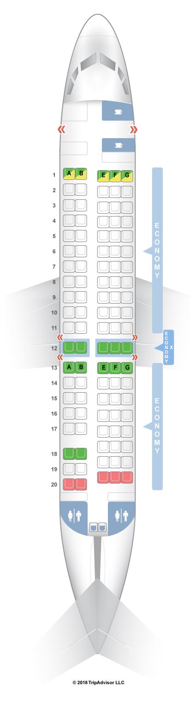 SeatGuru Seat Map Virgin Australia - SeatGuru