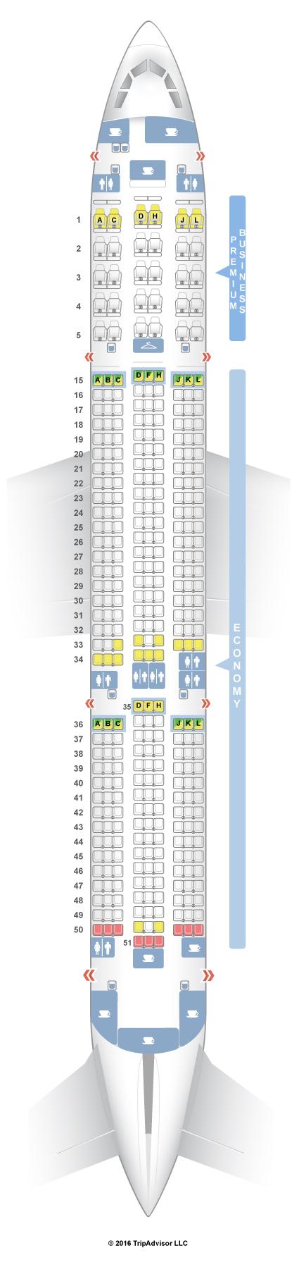 Seatguru Seat Map Latam Brasil
