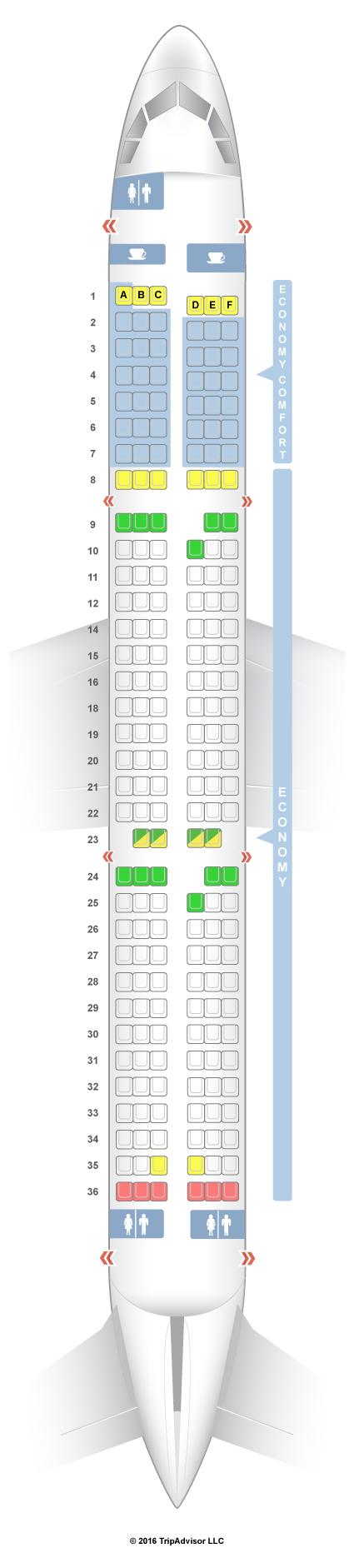SeatGuru Seat Map Alitalia - SeatGuru