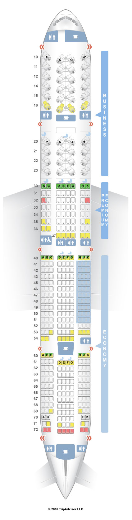 SeatGuru Seat Map China Airlines - SeatGuru on 777 seat plan, 777 seat diagram, delta a380 seating map, 777 seat profile, 777 seat configuration,