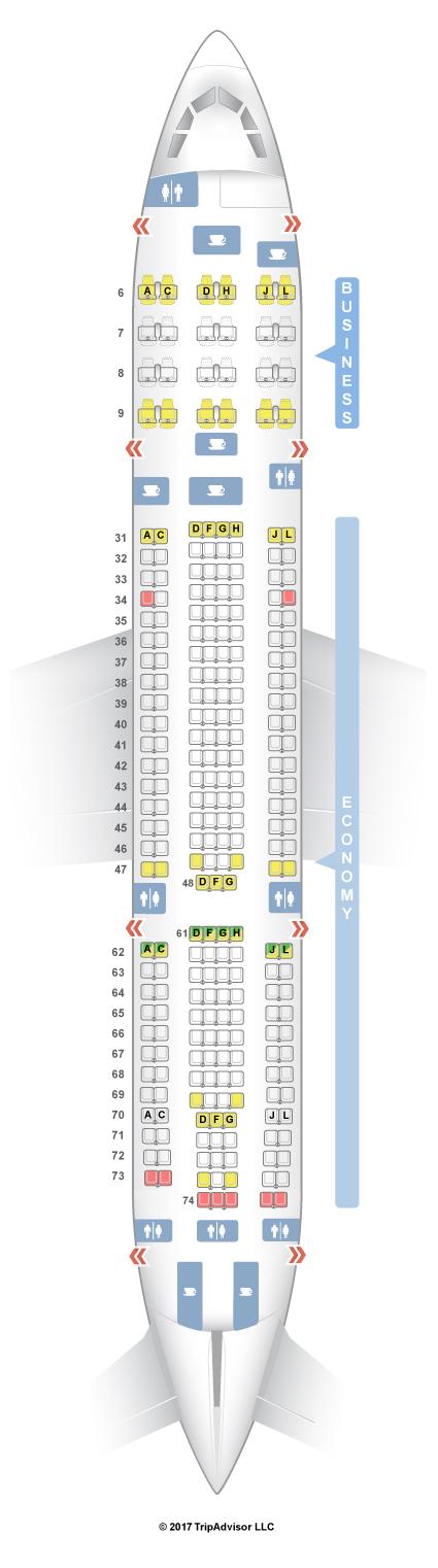 SeatGuru Seat Map China Eastern - SeatGuru on etihad airlines seat map, american airlines seat map, china airlines 777-300 economy, china eastern airlines business class, united airlines seat map, china southern airlines seat map, air china seat map, japan airlines seat map, china airlines 777-300er, iberia airlines seat map, copa airlines seat map, shanghai airlines seat map, china airlines seat selection, garuda airlines seat map, lan airlines seat map, south african airlines seat map, ethiopian airlines seat map, croatia airlines seat map, china eastern airlines route map, china eastern airlines seat assignment,
