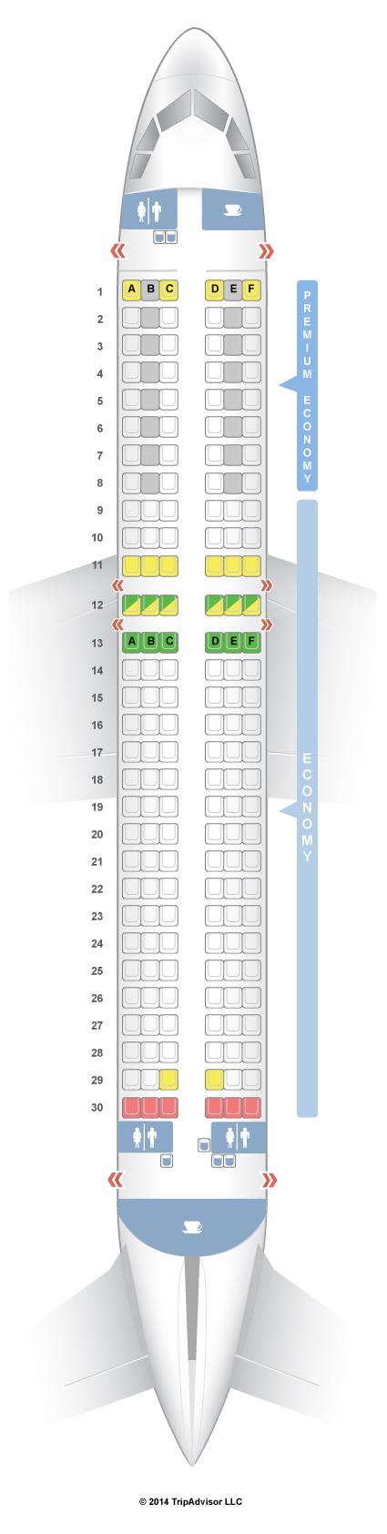 SeatGuru Seat Map Condor - SeatGuru