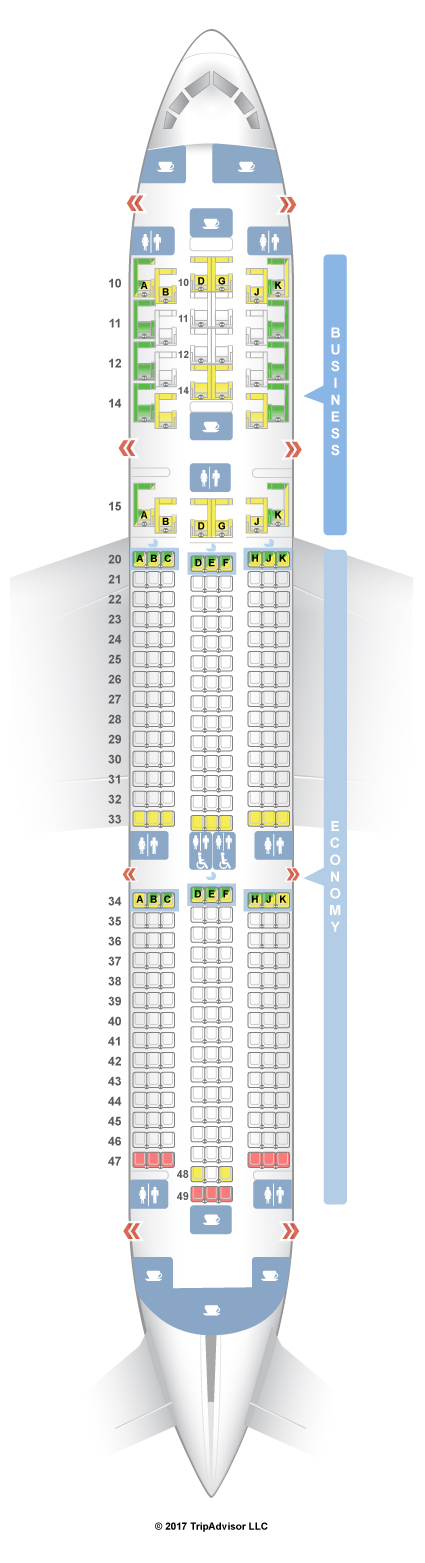 Seatguru Seat Map Oman Air Seatguru