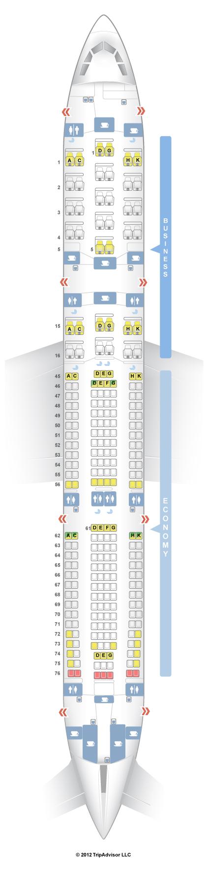 SeatGuru Seat Map South African Airways - SeatGuru
