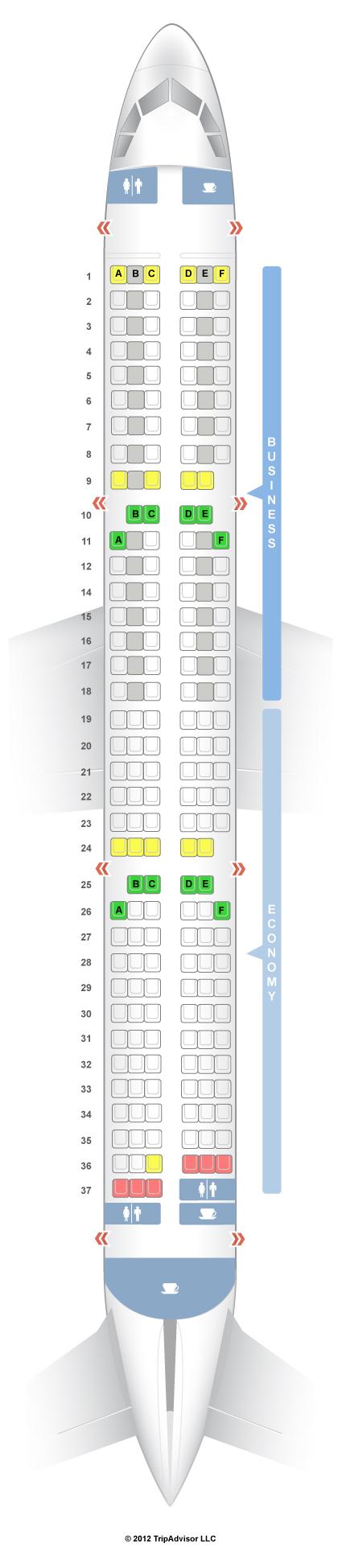 SeatGuru Seat Map SWISS - SeatGuru
