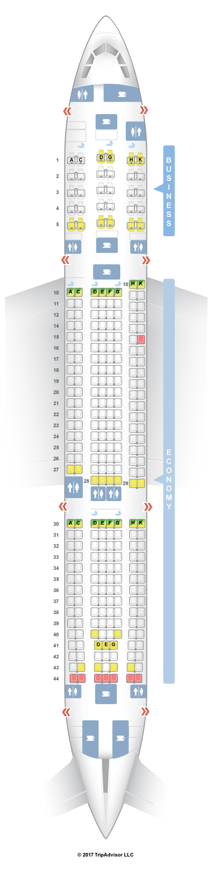 Seatguru Seat Map Asiana