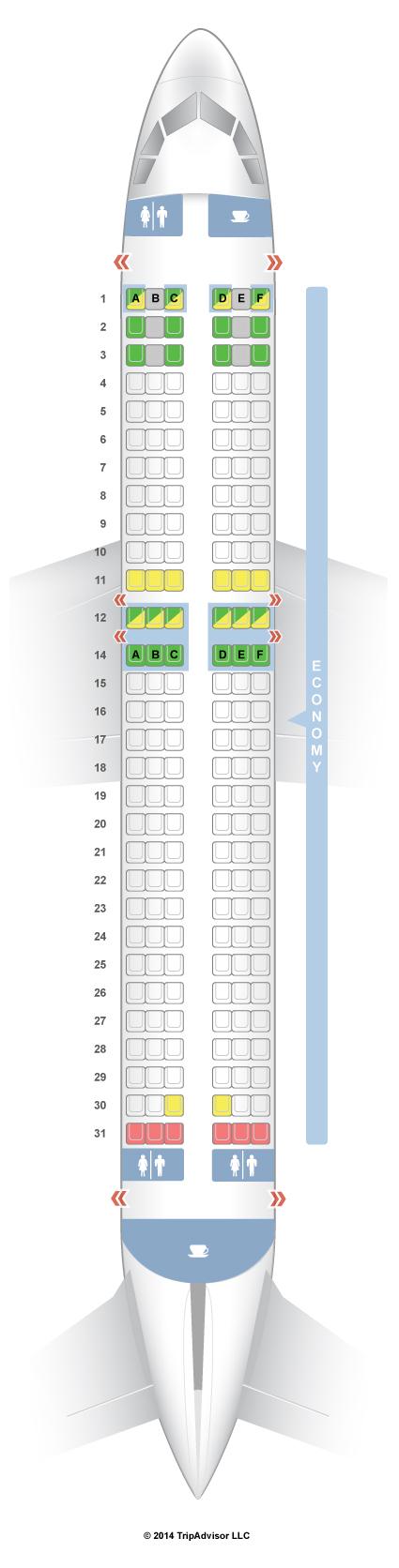 Love Seats Stoelen.Seatguru Seat Map Vueling Airlines Seatguru