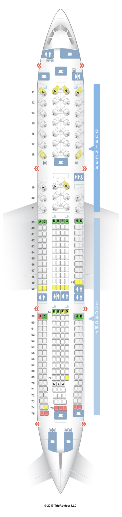 cathay pacific a330 300 seat map Seatguru Seat Map Cathay Pacific Seatguru cathay pacific a330 300 seat map