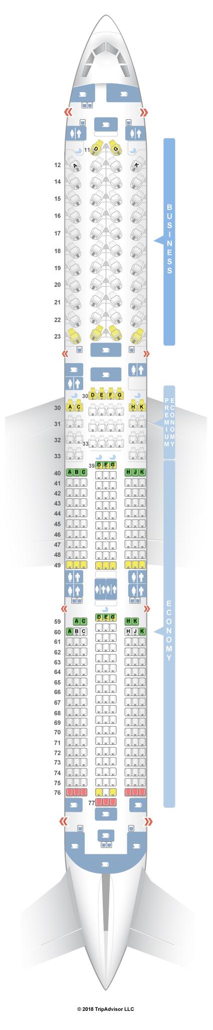 cathay pacific premium economy seat map Seatguru Seat Map Cathay Pacific Seatguru cathay pacific premium economy seat map