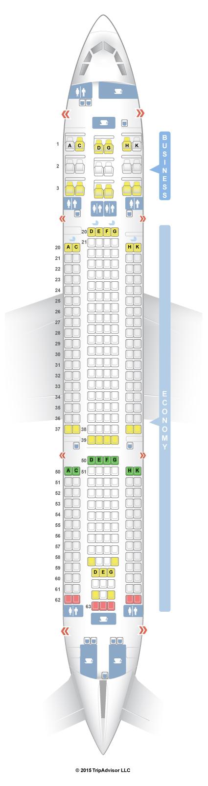 airbus a330 200 seat map Seatguru Seat Map Srilankan Airlines Seatguru airbus a330 200 seat map