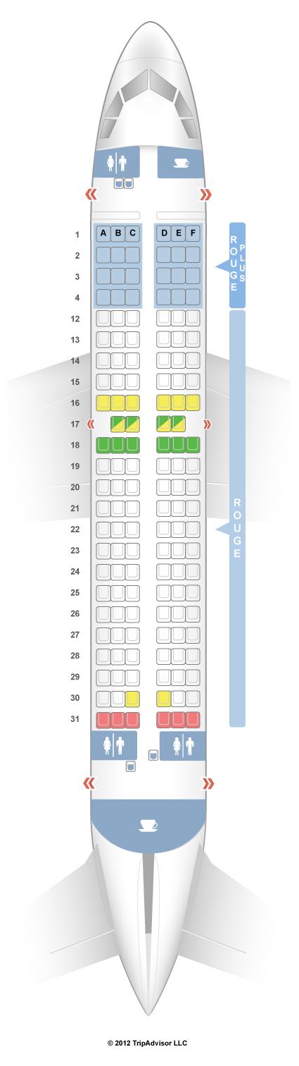 SeatGuru Seat Map Air Canada