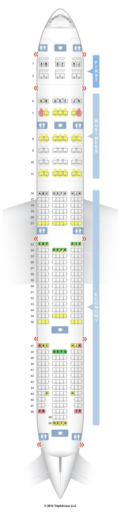 A380 sitzplan emirates seatguru