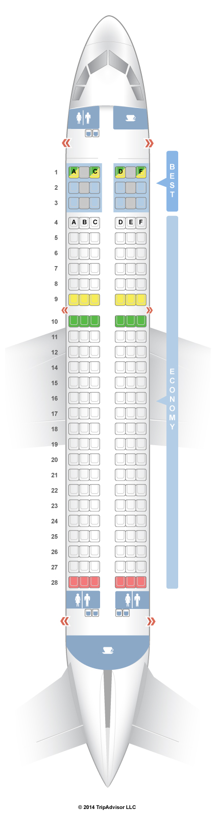 SeatGuru Seat Map Germanwings