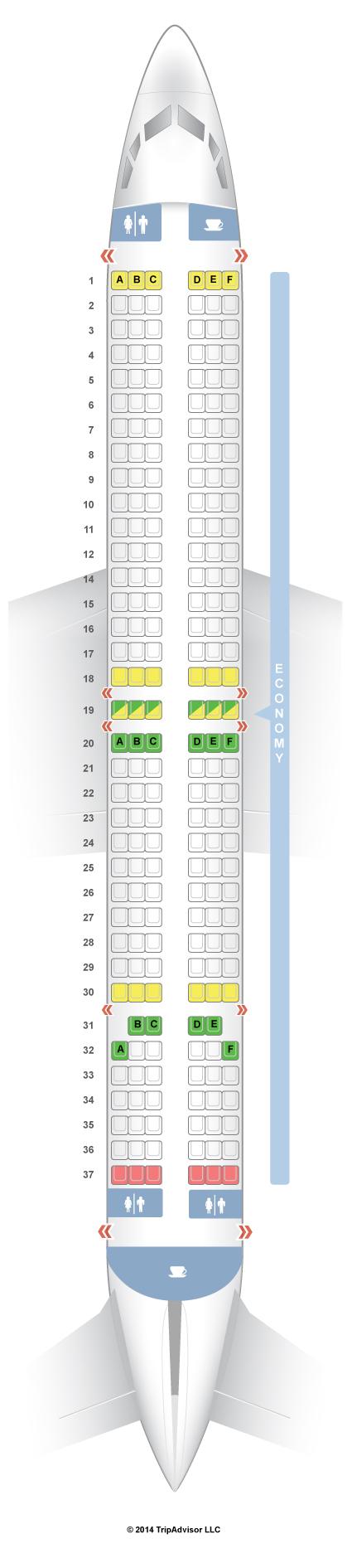 Seatguru Seat Map Lion Airlines Seatguru