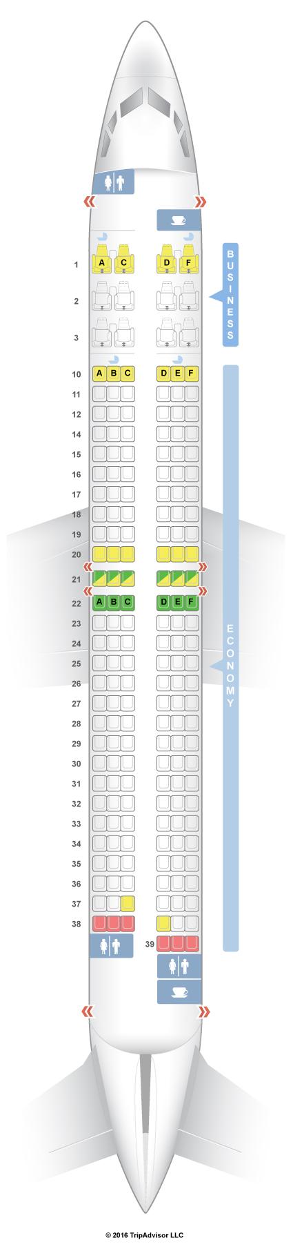 Seatguru Seat Map Oman Air Seatguru