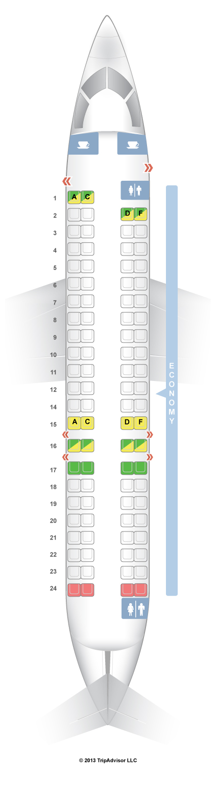 Canadair Crj 900 Seats