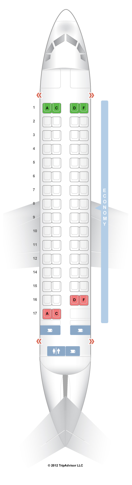 Norra atr 72 seat map