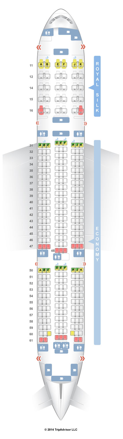 Seatguru Seat Map Thai Boeing 777