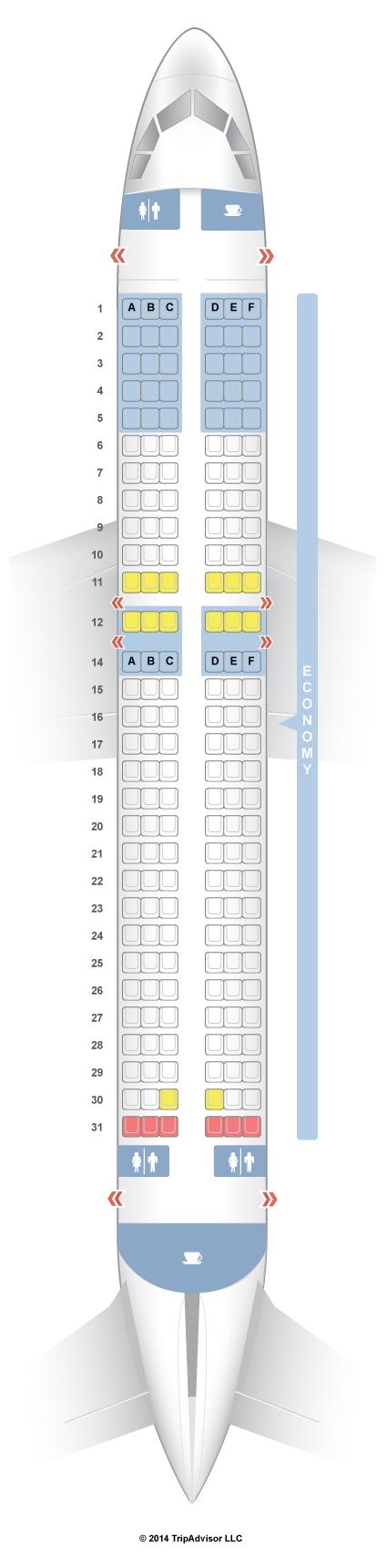 Seatguru Seat Map Airasia Airbus A320 320