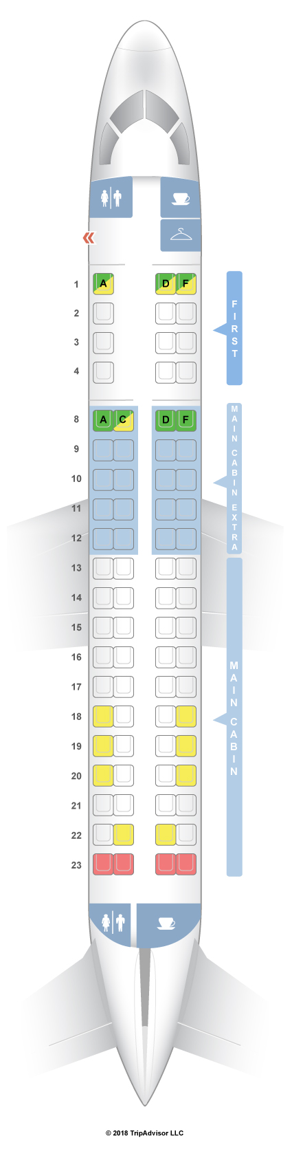 American airlines seat assignment