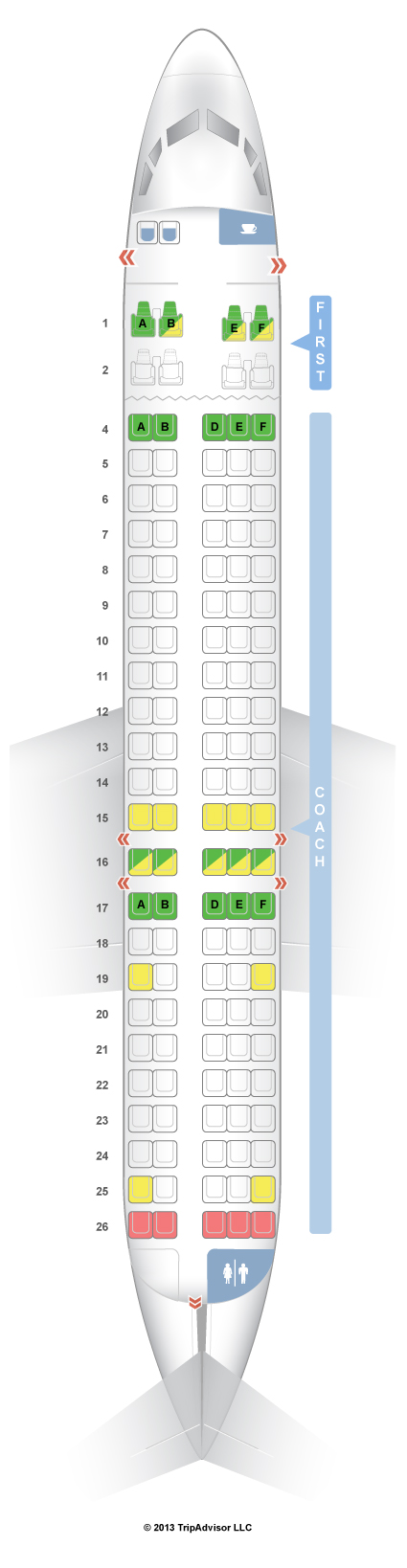 Delta Boeing 717 Seating Chart - #GolfClub on