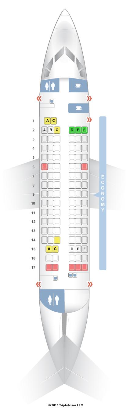 Seatguru Seat Map Air France Rj 85 Avroliner