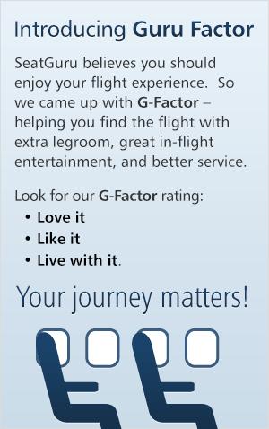 SeatGuru G-Factor