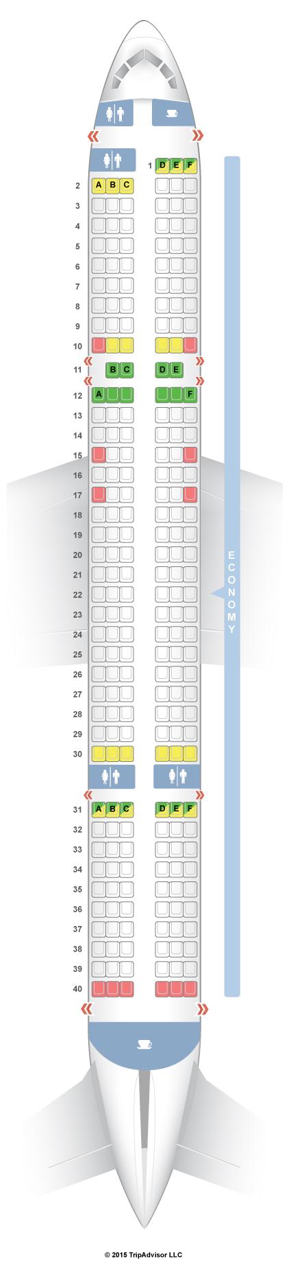 Seatguru Seat Map Thomas Cook Airlines Boeing 757 200 752