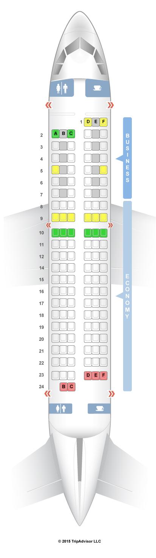 Seatguru Seat Map Air France Airbus A318 318 Europe