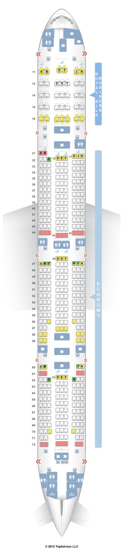 Seatguru Lufthansa A380