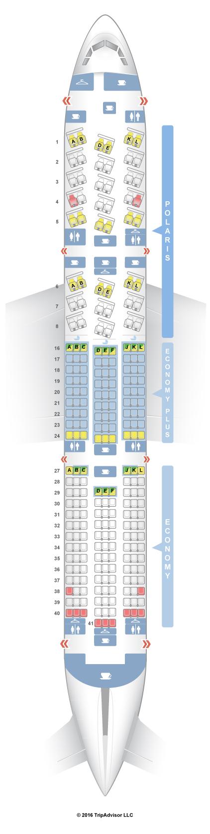 Seatguru Seat Map United Boeing 777 200 772 V2 Three | Autos Post