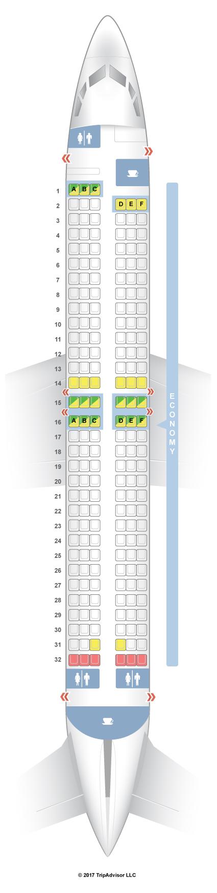 Seatguru Seat Map Transavia Airlines Boeing 737 800 738