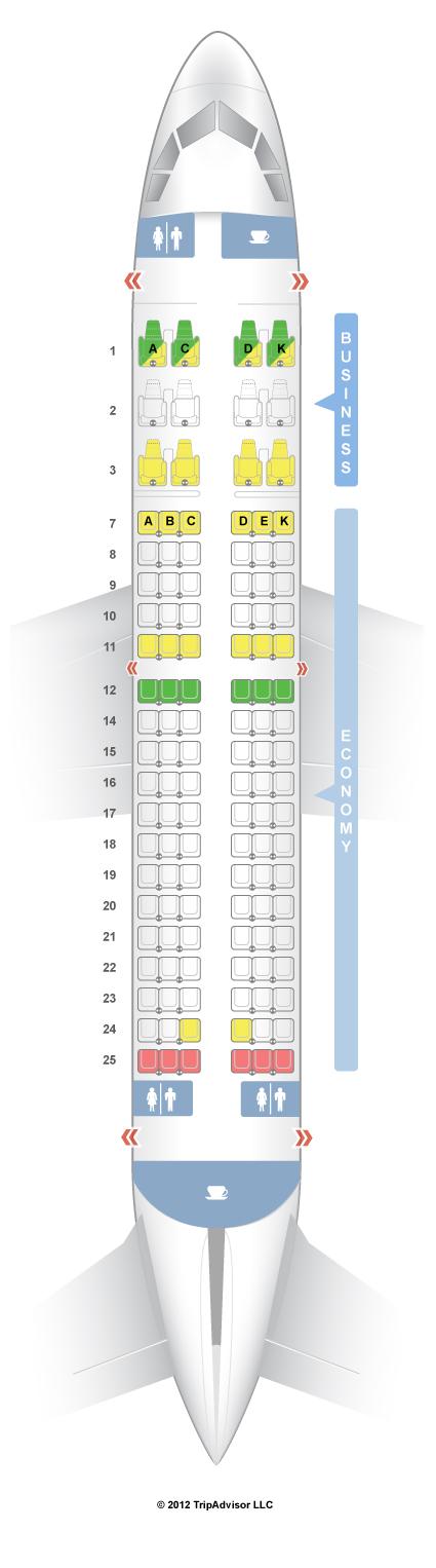 Seatguru Seat Map Avianca Airbus A319 319