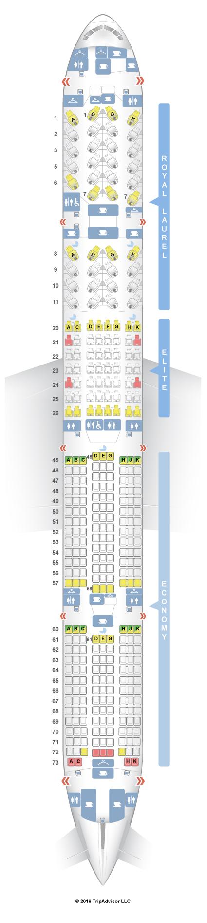 Seatguru Seat Map Air China Boeing 777 300er 77w