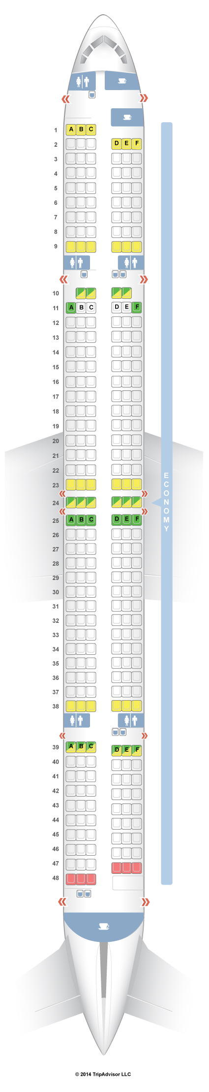 Boeing 757 300 Delta Seating Chart Brokeasshome Com