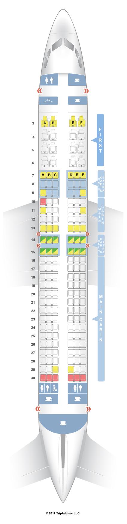 SeatGuru Seat Map American Airlines Boeing V - Us airways seating map