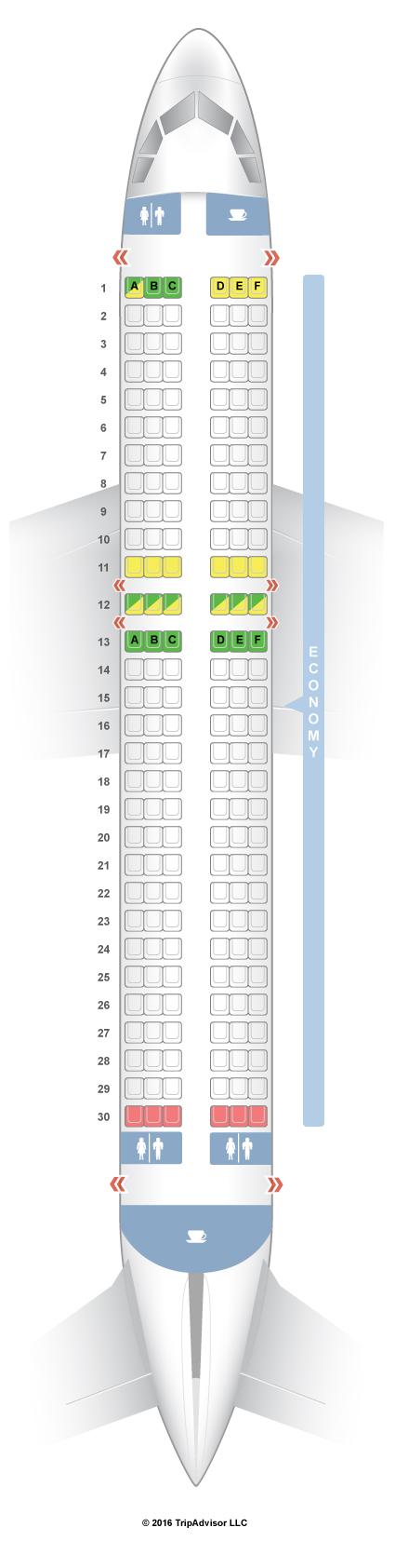 Seatguru Seat Map Jetstar Airbus A320 320