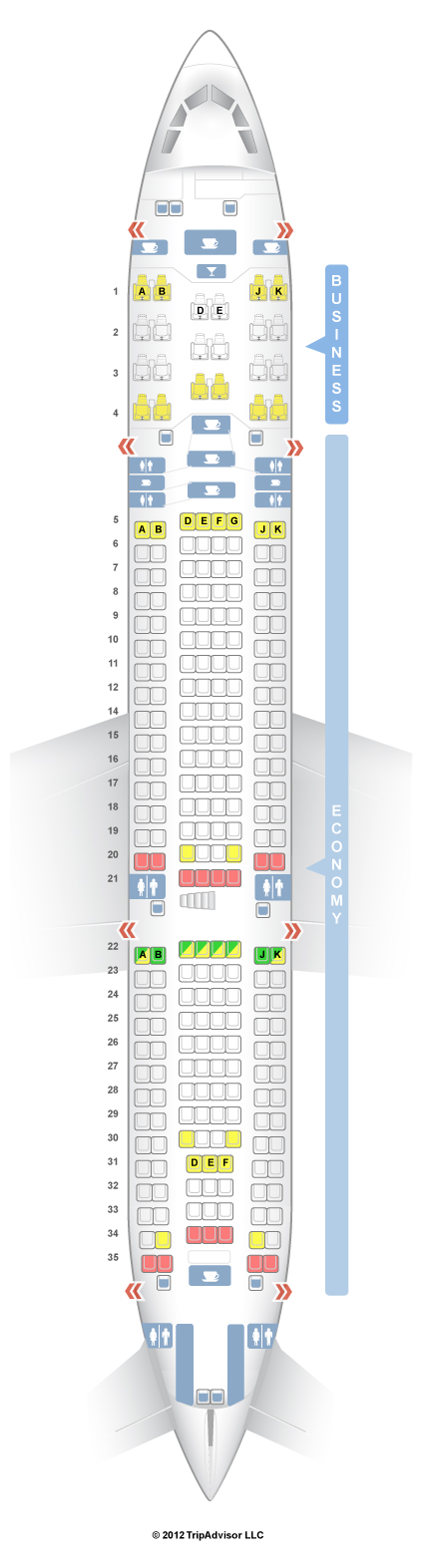 SeatGuru Seat Map Turkish Airlines Airbus A V - Us airways a321 seat map