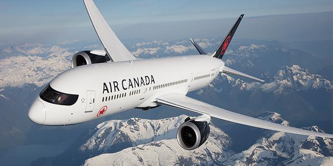 Air Canada Flight Information