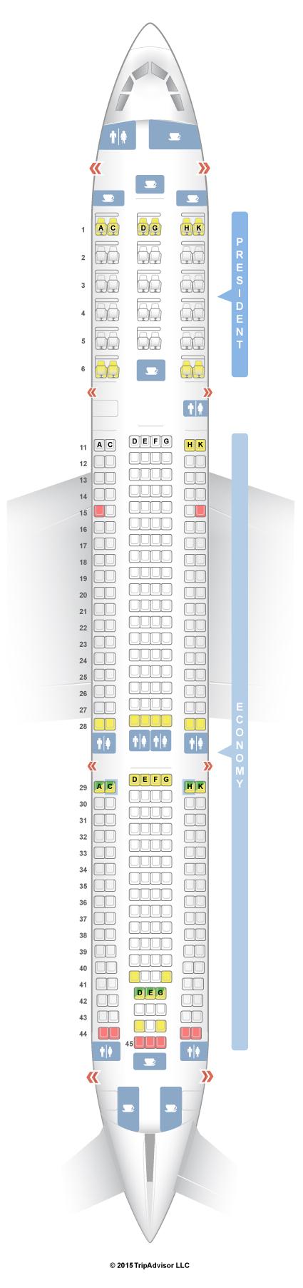 Seatguru Seat Map Aeroflot Airbus A330 300 333 V1