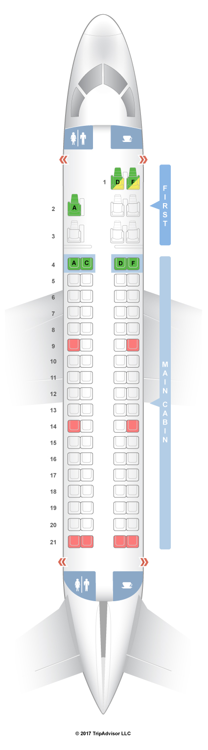 seating chart american airlines