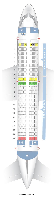 Seatguru Seat Map Lufthansa Airbus A319 319