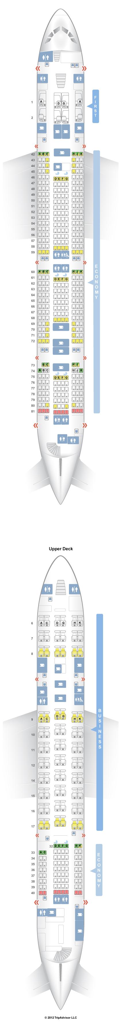 Seatguru Seat Map Malaysia Airlines Airbus A380 800 388